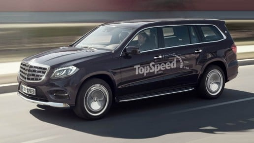 2018 Mercedes-Maybach GLS Rendering