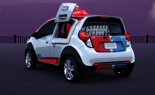 Domino DXP Pizza Delivery Vehicle