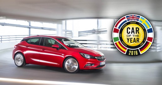 Opel/Vauxhall Astra – 2016 European Car of the Year