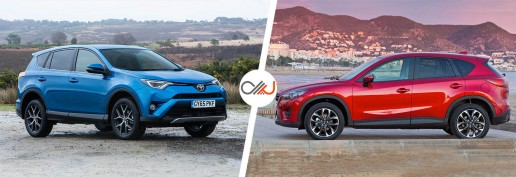 rav4-vs-cx-5-driving