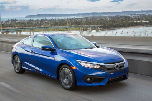 2016-Honda-Civic-Touring-Coupe-front-three-quarter-in-motion-04
