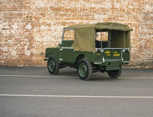 Factory-Restored Land Rover Series I