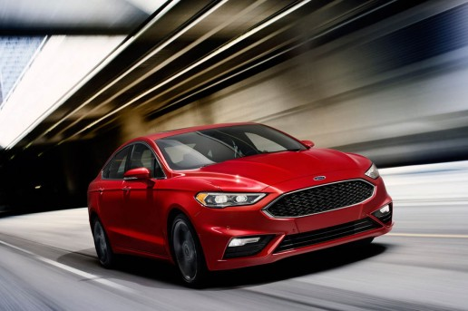 2017 Ford Fusion Sport