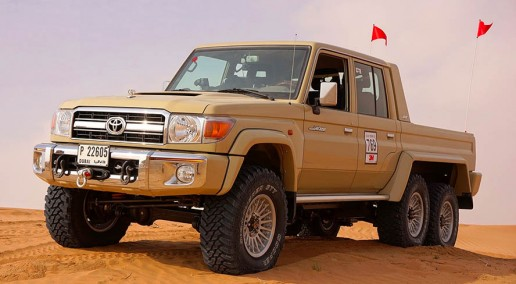 6x6 Toyota Land Cruiser Pickup