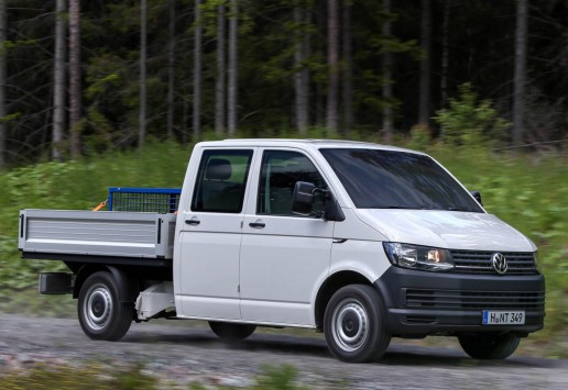 2016 Volkswagen transporter t6 chassis cab