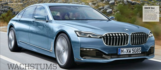 BMW 9-Series Coupe Rendering