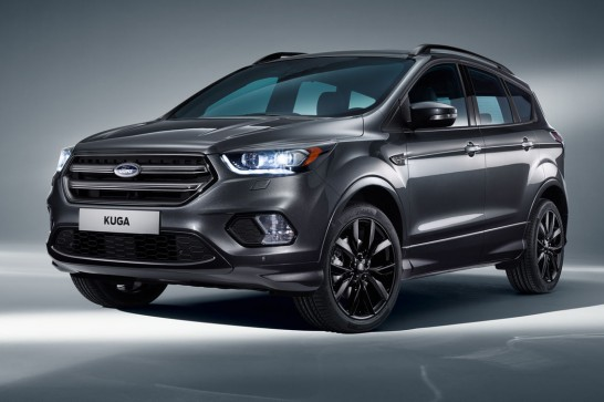 Revised-Ford-Kuga-front-side-view
