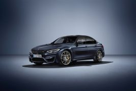 2016-BMW-M3-30-Years-M3-front-three-quarters