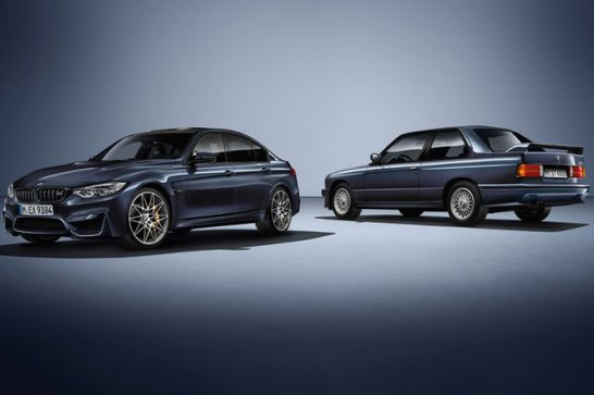 2016-BMW-M3-30-Years-M3-with-first-gen-M3