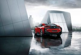 2016-BMW-i8-Protonic-Red-Edition-rear