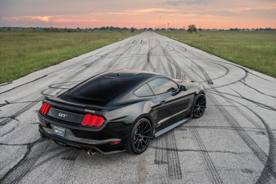 Hennessey Reveals 25th Anniversary HPE800 Ford Mustang