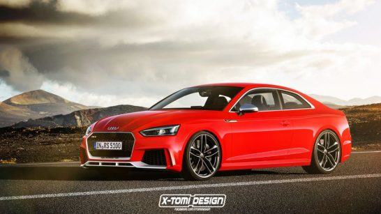 Audi RS5 coupe rendering