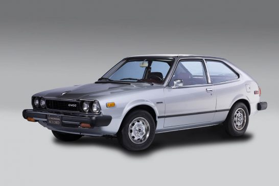 First-Generation 1976 Honda Accord