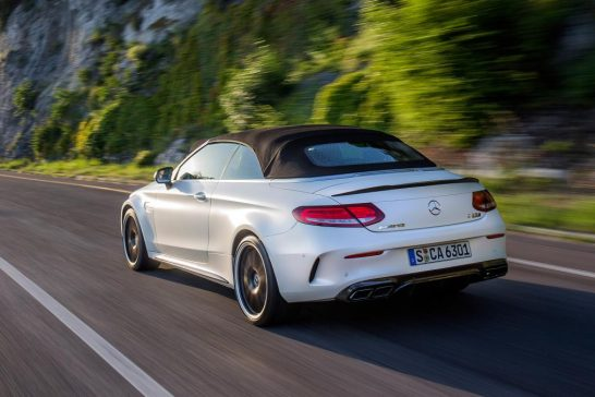 Mercedes-AMG C 63 S Cabriolet 2016
