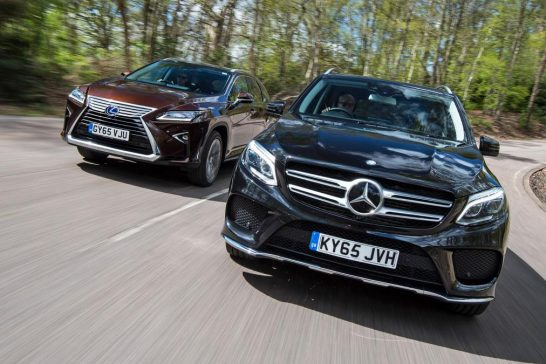Mercedes GLE vs Lexus RX