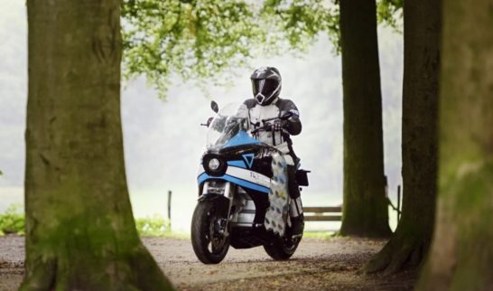 Storm Pulse electric touring motorcycle