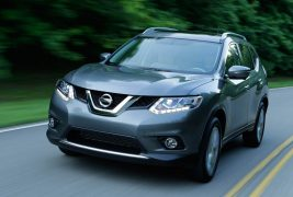 2014-nissan-rogue-front-three-quarter-motion