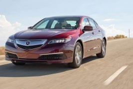 2015-Acura-TLX-24-front-three-quarter-view-in-motion-5