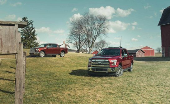 2016 Ford F-150 5.0L V-8 4x4 and F-150 3.5L EcoBoost 4x4