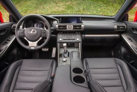 2016-Lexus-IS-200t-F-Sport-interior