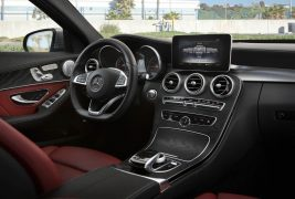 2016-Mercedes-Benz-C300-RWD-interior