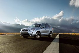 2016-Subaru-Forester-front-three-quarters