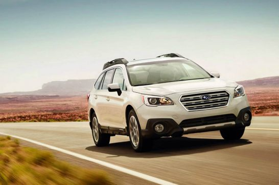 2016-Subaru-Outback-front-three-quarter-in-motion