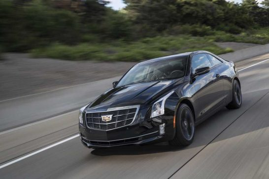 Cadillac ATS Carbon Black 2017