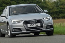 Audi-A4-front-cornering