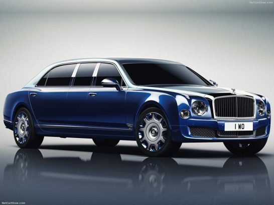 Bentley Mulsanne Grand Limousine By Mulliner-