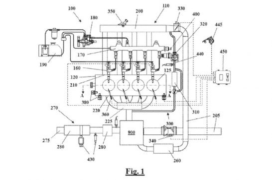 GM-dual-stage-turbocharger-patent-drawing-1
