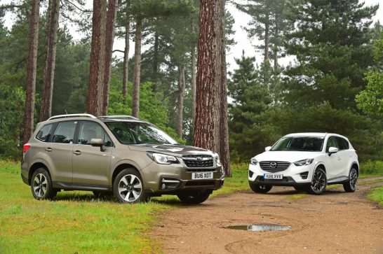 Subaru Forester vs Mazda CX-5
