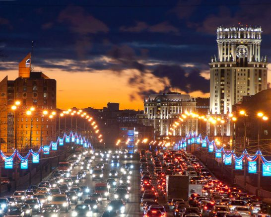 World___Russia_Traffic_jam_in_moscow