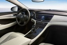 2017-Buick-LaCrosse-Hybrid-Chinese-Spec-interior