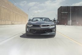 2017-Chevrolet-Camaro-50th-Anniversary-front-end-in-motion