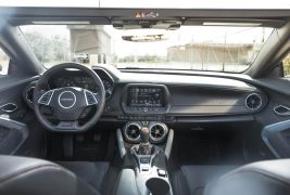 2017-Chevrolet-Camaro-50th-Anniversary-interior