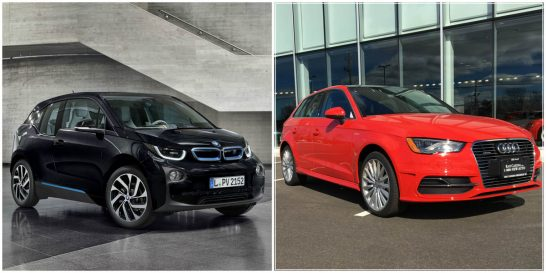 BMW-i3-vs-Audi-A3-e-tron
