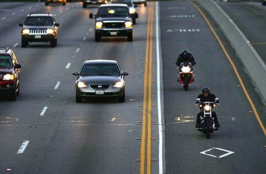 California Will Be the First State to Formally Legalize Lane Splitting