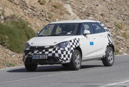 MG ZS spied 01
