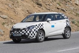 MG ZS spied 02
