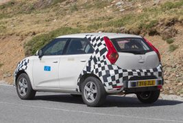 MG ZS spied 03
