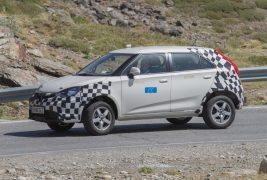 MG ZS spied 05