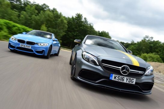 Mercedes-AMG C 63 S Coupe vs BMW M4 01