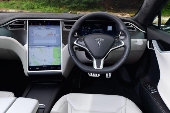 Tesla Model S 2016 facelift