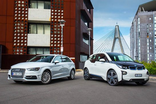 bmw-i3-vs-audi-a3-e-tron-front-side