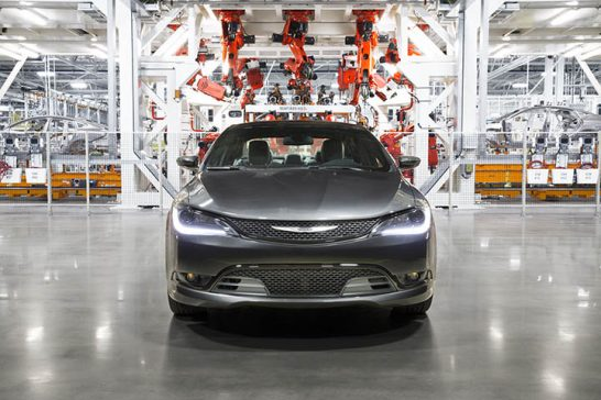 The Chrysler 200 Factory Tour, an interactive online experience