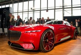 Vision Mercedes-Maybach 6 concept