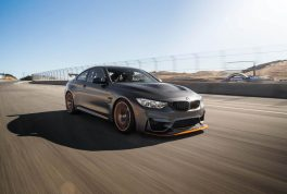 2016-BMW-M4-GTS-front-three-quarters-in-motion