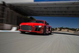 2017-audi-r8-v10-front-three-quarter-low-in-motion