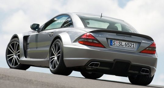 Mercedes-Benz SL65 AMG Black Series 2009